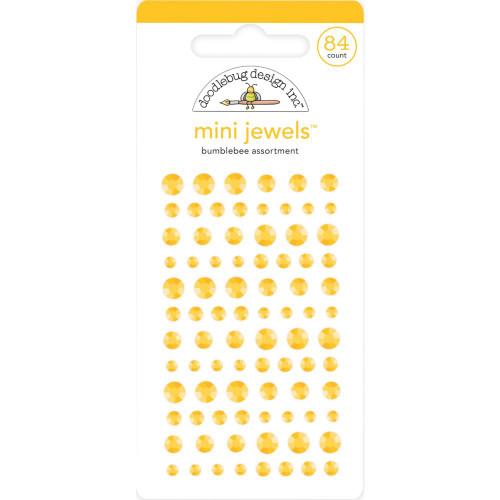 Doodlebug Monochromatic Mini Jewels: Bumblebee