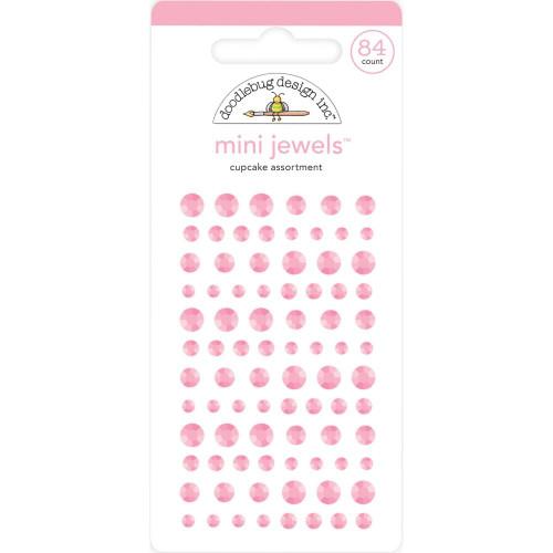 Doodlebug Monochromatic Mini Jewels: Cupcake