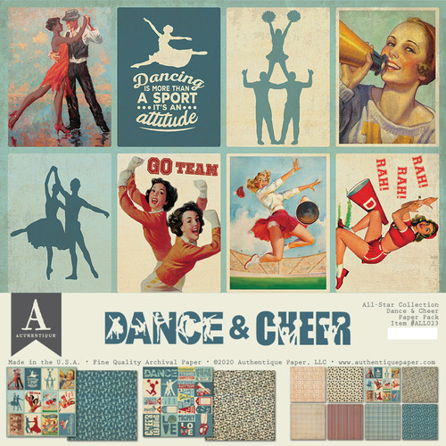 Authentique All-Star Paper Pack: Dance & Cheer
