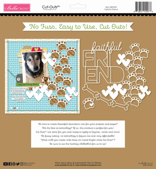 Bella Blvd Cooper Cut Outs: Faithful Friend