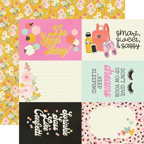 Simple Stories Kate & Ash 12x12 Paper: 4x6 Elements