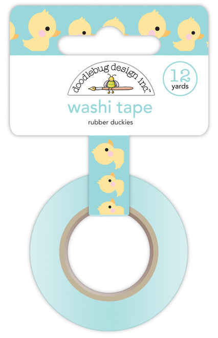 Doodlebug Special Delivery Washi Tape: Rubber Duckies