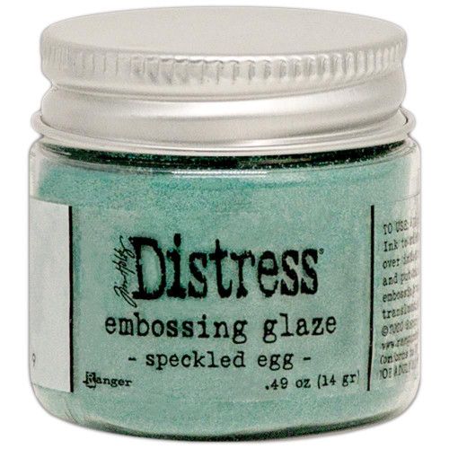 Distress Embossing Glaze: Speckled Egg