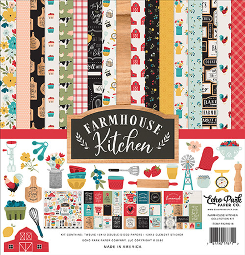 Echo Park Farmhouse Kitchen Collection Kit