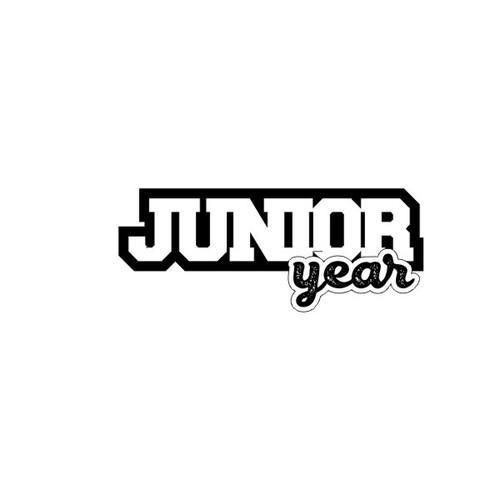 Scrapbook Customs Laser Cut Title: Junior Year