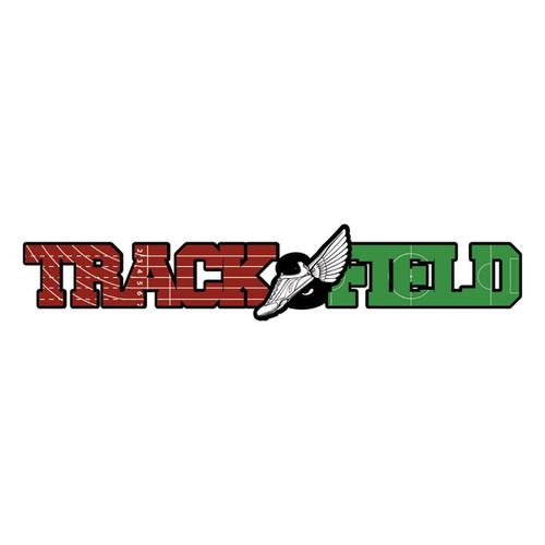 Scrapbook Customs Laser Cut Title: Dimensional Track & Field