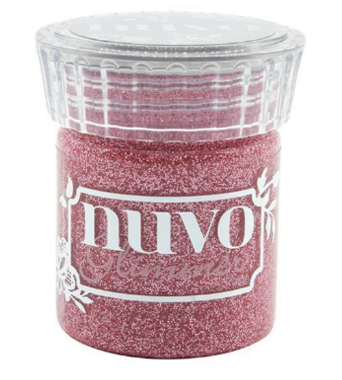 Nuvo Glimmer Paste: Strawberry Champagne