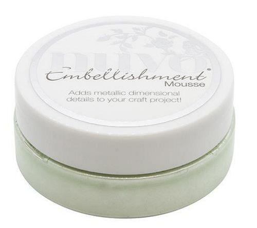 Nuvo Embellishment Mousse: Honeydew