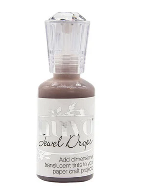 Nuvo Jewel Drops: Cocoa Blush