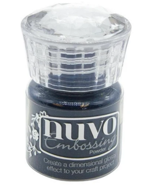Nuvo Embossing Powder: Duchess Blue