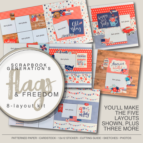 SG: Flags & Freedom - 8 Layout Kit