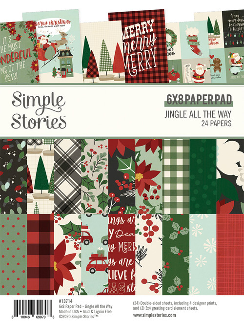 Jingle All The Way 6x8 Pad