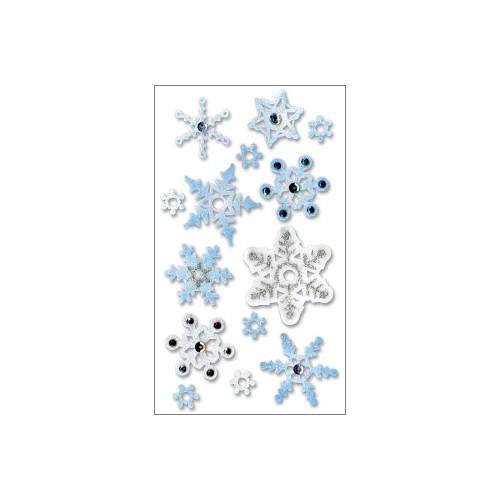 Jolee's Boutique Vellum Stickers: Snowflakes