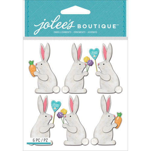 Jolee's Boutique Dimensional Stickers: Easter Bunnies