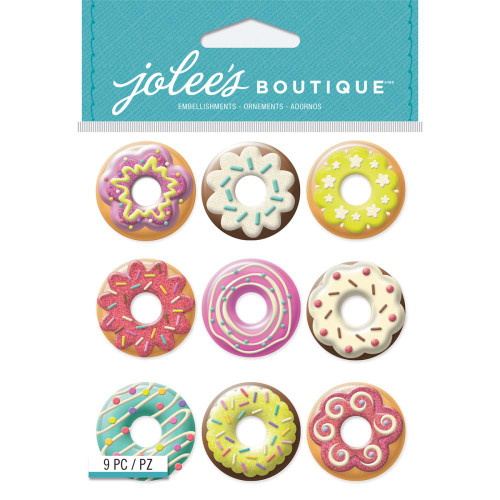 Jolee's Boutique Dimensional Stickers: Donuts