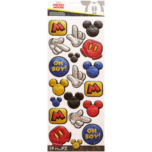 Disney Dimensional Stickers: Mickey Faux Sequins