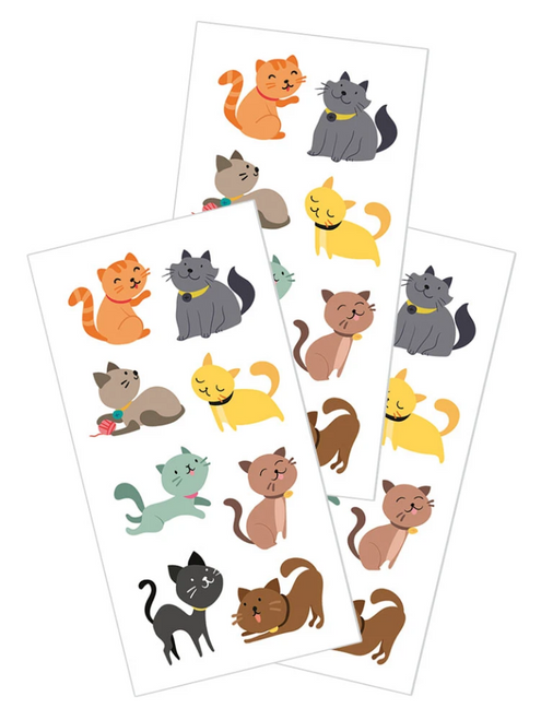 Paper House StickyPix Sticker: Illustrated Cats