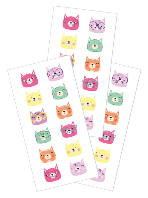 Paper House StickyPix Sticker: Cats Faces