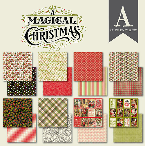 Authentique A Magical Christmas 6x6 Bundle