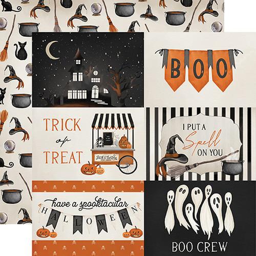 Carta Bella Halloween Market 12x12 Paper: 4X6 Journaling Cards