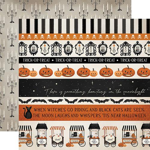 Carta Bella Halloween Market 12x12 Paper: Border Strips