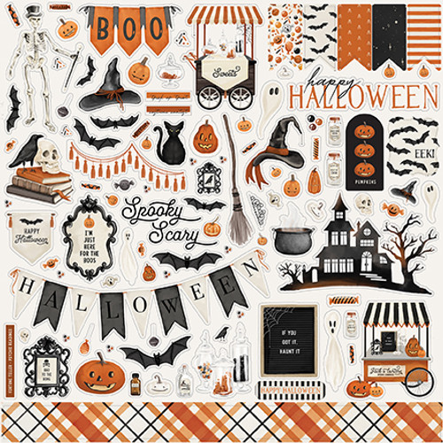 Carta Bella Halloween Market Element Sticker