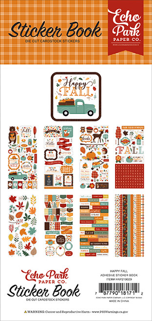 Echo Park Happy Fall Sticker Book