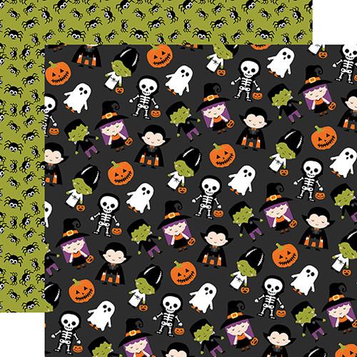 Echo Park I Love Halloween 12x12 Paper: Trick Or Treat