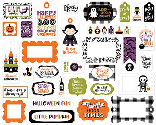 Echo Park I Love Halloween Frames & Tags