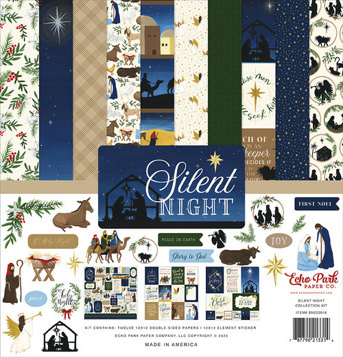 Echo Park Silent Night Collection Kit