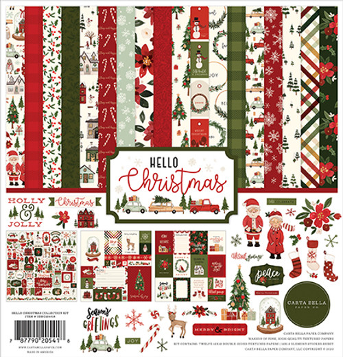 Carta Bella Hello Christmas Collection Kit