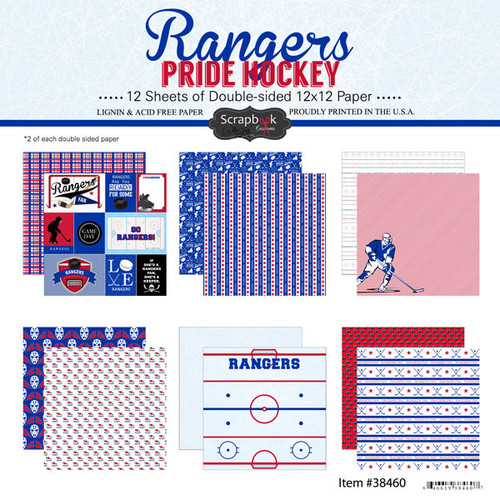 Scrapbook Customs NHL Collection Pack: Rangers Pride