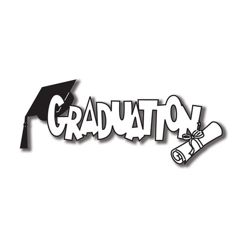 Scrapbook Customs Laser Cut Title: Graduation C