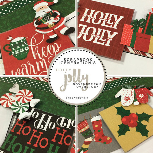 SG: Holly Jolly - 1 Layout Kit