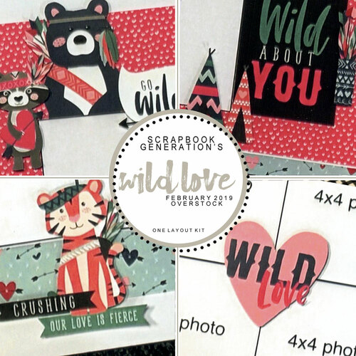 SG: Wild Love - 1 Layout Kit