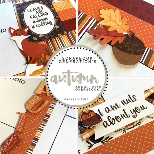 SG: Autumn - 1 Layout Kit