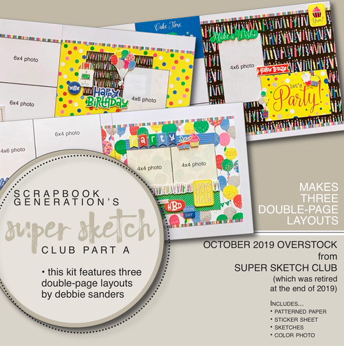 "2019 October SSC Part ""A"" - 3 Layout Kit"