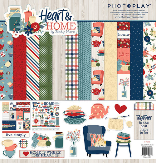 PhotoPlay Heart & Home Collection Pack