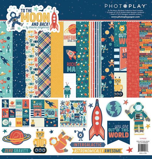 Photoplay 12x12 Collection Pack: To the Moon and Back