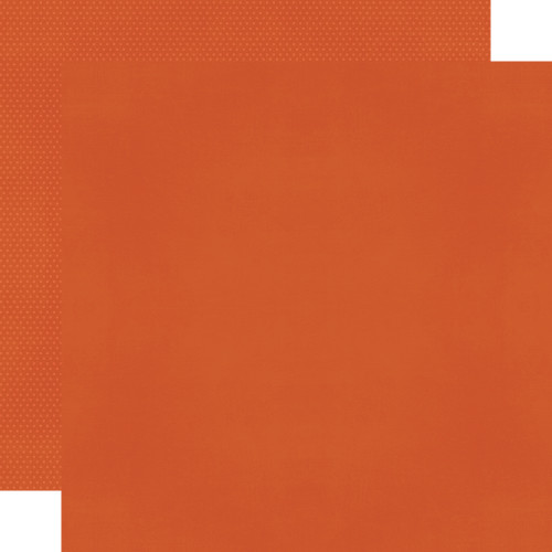 Color Vibe 12x12 Textured Cardstock: Pumpkin