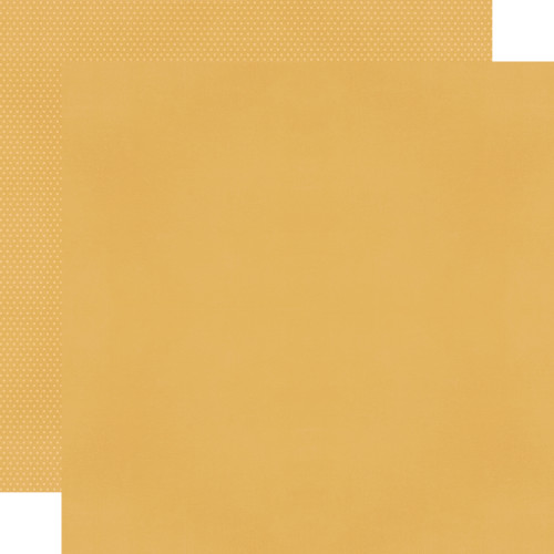 Color Vibe 12x12 Textured Cardstock: Mustard