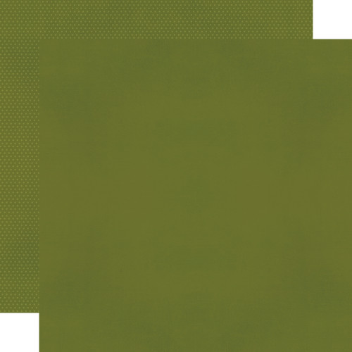 Color Vibe 12x12 Textured Cardstock: Avocado