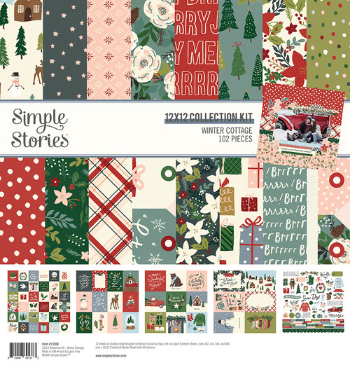 Winter Cottage 12x12 Collection Kit