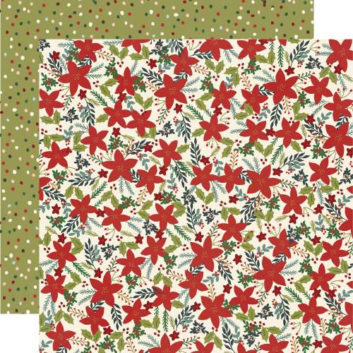 Winter Cottage 12x12 Paper: Peace Love Joy