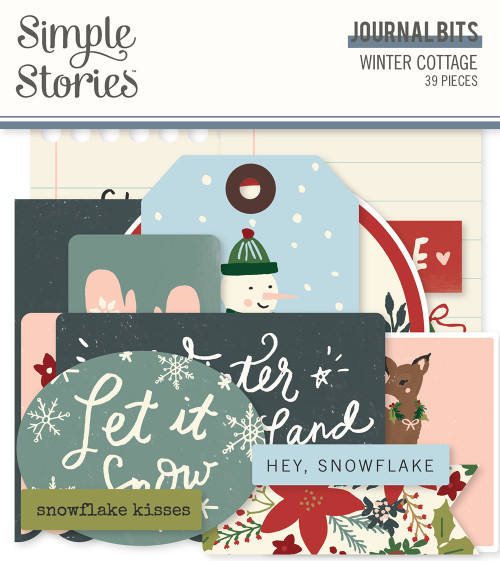 Winter Cottage Journal Bits & Pieces