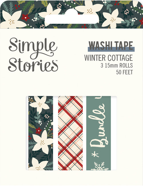 Winter Cottage Washi Tape