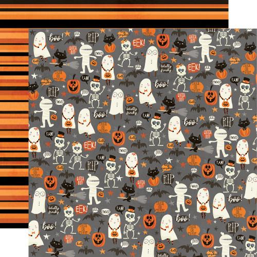 Boo Crew 12x12 Paper: Our Little Spooks