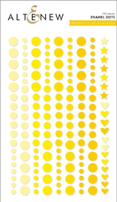 Altenew Enamel Dots: Pocketful of Sunshine