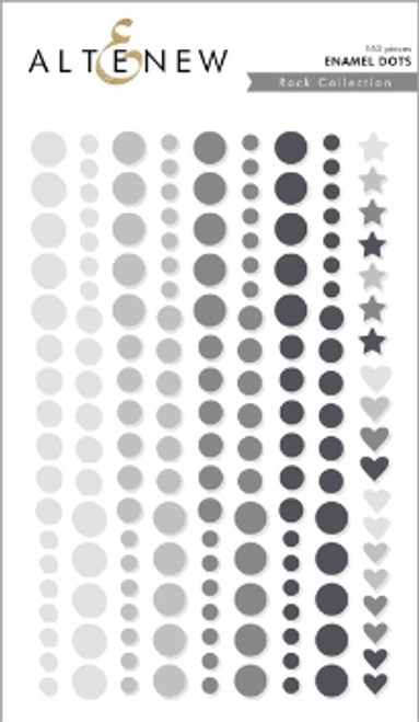 Altenew Enamel Dots: Rock Collection