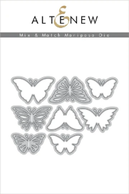 Altenew Metal Die: Mix & Match Mariposa